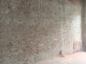 Пескоструйная очистка стен